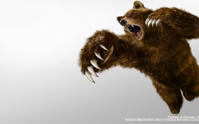 Картинка Games, bear, Tekken