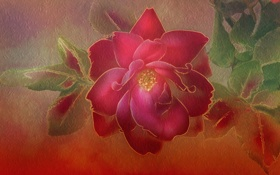 Обои фон, роза, текстура