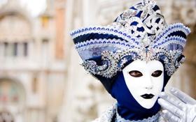 Обои праздник, маска, карнавал, венеция, venice