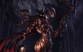 Картинка rpg, diablo 3, арбалет, demon hunter