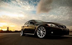 Картинка черный, ISF, black, лексус, Lexus