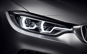 Картинка Concept, BMW, Coupe, Style, 2013, Silver, 4 series