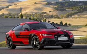 Обои Audi, ауди, Sportback, 2014, RS 7, piloted driving concept