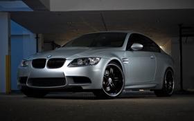 Обои silvery, бмв, BMW, серебристый