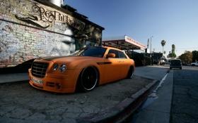Картинка Chrysler, 300C, street