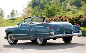 Обои car, авто, Cadillac, вид сзади, retro, Convertible, 1949