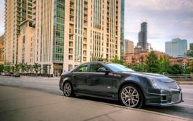 Картинка CTS-V, Chicago, Cadillac, Чикаго