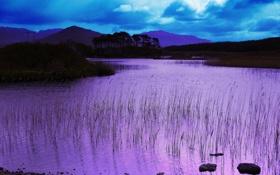 Обои природа, пейзаж, озеро