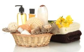 Обои мыло, soap, мочалка, gel, гель для душа, shower gel, washcloth