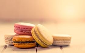 Обои печенье, десерт, sweet, dessert, cookies, macaron, макарун