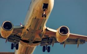 Обои небо, авиация, самолёт