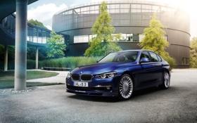 Обои бмв, BMW, F30, Alpina, 2015, 3-Series