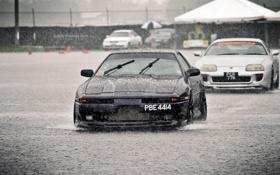 Картинка дождь, supra, honda, rain, хонда, toyota, тойота