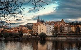 Обои замок, Прага, Чехия, Deliberation