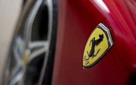Обои логотип, Ferrari, эмблема, герб, cars, auto, Supercars