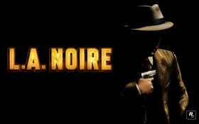 Обои детектив, Rockstar Games, L.A. NOIRE, Коул Фелпс