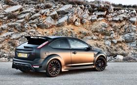 Обои Ford, Машина, Форд, Обои, Чёрный, Focus, Автомобиль