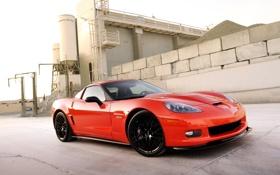 Обои Z06, Corvette, Chevrolet, шевроле, 2011, Hennessey, корветт