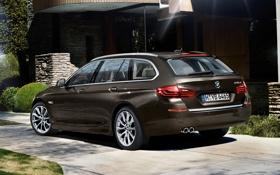 Картинка машина, обои, бмв, BMW, универсал, xDrive, Touring