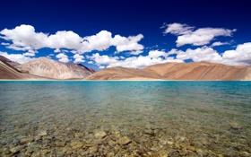 Обои пейзаж, горы, озеро