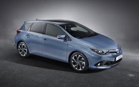 Обои Toyota, Hybrid, гибрид, тойота, 2015, аурис, Auris