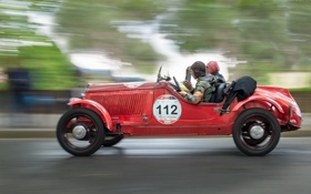 Обои гонка, машина, спорт