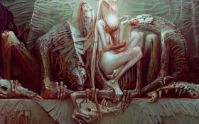 Обои фантастика, ангел, существа, art, The Fallen Angel, Kumpan Alexandr