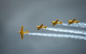 Обои авиация, самолёт, пилотаж