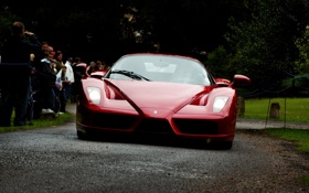 Обои f50, red, ferrari enzo