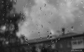 Картинка капли, дождь, депрессия