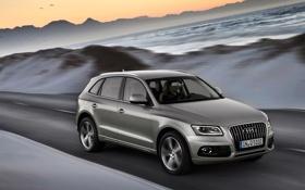 Обои Audi, Авто, Ауди, Машина, Внедорожник, В движении