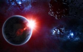 Картинка Планета, Вселенная, Космос