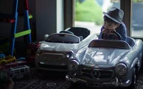 Картинка машины, настроение, малчик