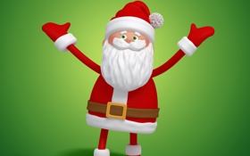 Обои christmas, санта, новый год, new year, santa, santa claus, рождество
