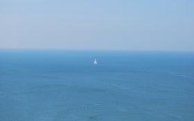 Картинка море, парусник, sea