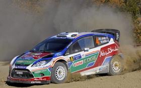 Картинка Ford, Авто, Спорт, Форд, Занос, WRC, Rally