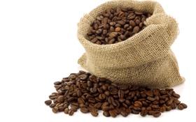 Картинка кофе, мешок, зёрна