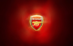 Обои red, gold, Arsenal