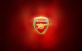 Обои red, gold, Arsenal
