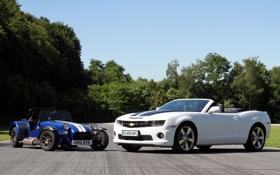 Обои Chevrolet, Камаро, Шевроле, Camaro, Seven, Caterham, Катерем