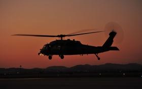 Обои вертолет, боевой, HH-60G, Pave Hawk