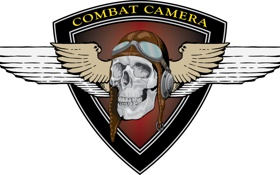 Обои череп, логотип, эмблема, Combat Camera