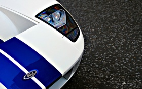 Обои Ford, ракурс, Supercars, wallpapers auto, Supercar, auto, white