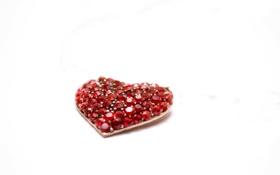 Картинка сердце, камни, фон