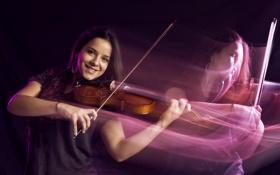 Обои музыка, скрипка, Larisa Muñoz