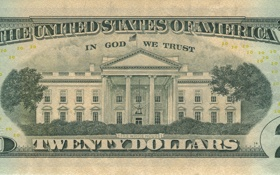 Обои yellow, america, states, money, dollars, dollar, god