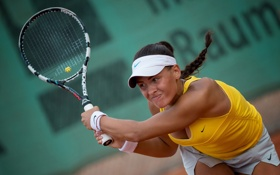Обои ITF Tournament, tennis, Ladies Open 2014, Uberalova Petra