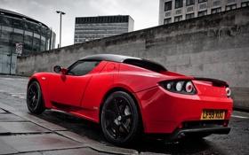 Обои Roadster, Красный, Дорога, Спорт, Машина, Машины, Red