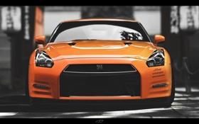 Картинка Nissan, gtr, r35
