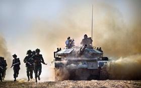 Обои оружие, солдаты, танк, Bangladesh Army